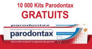 10000 Kits Parodontax Gratuits