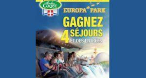 4 séjours pour 4 personnes au parc Europa Park en Allemagne