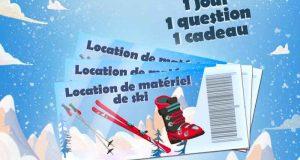 6 bons de location de ski Intersport pour 2 adultes et 2 enfants