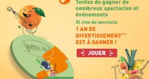 Bon d'achat Carrefour Spectacles de 1200 euros