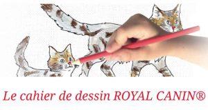 Cahier à dessin animé gratuit à recevoir à domicile