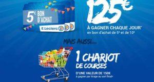 Chariot de courses de 150 euros