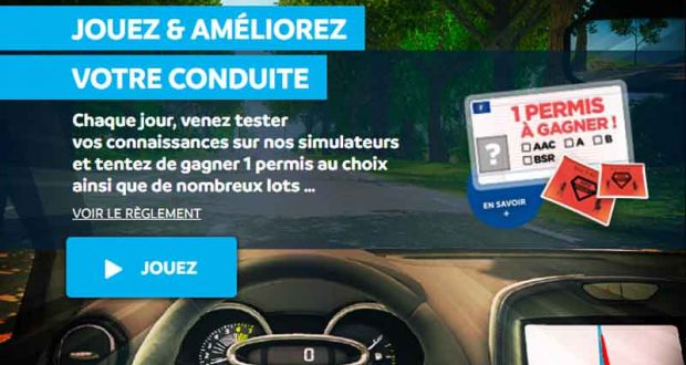 Permis auto B (valeur 1700 euros)