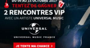 Rencontre VIP avec un artiste Universal Music (10 000 euros)