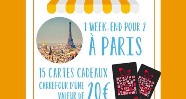 Week-end de 3 jours pour 2 personnes à Paris