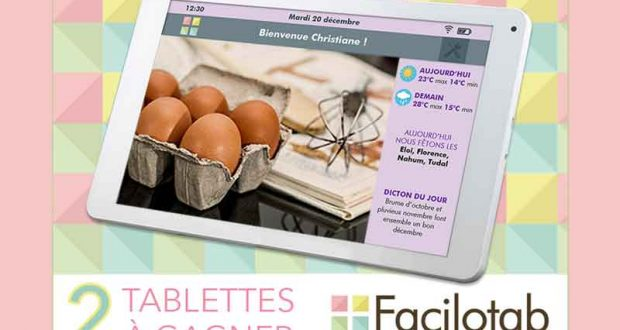 2 tablettes Facilotab