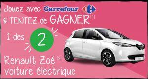2 voitures électriques Renault Zoé