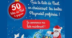 50 lots de 3 jouets Playmobil au choix (valeur unitaire 537 euros)