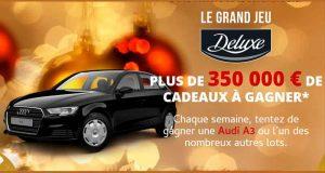 9 voitures Audi A3 (valeur unitaire 28000 euros)