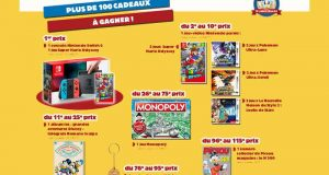 Console Nintendo Switch avec 1 jeu Super Mario Odyssey