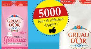 Farine Gruau d'Or 5000 Bons de réduction