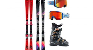 Paire de skis Atomic (valeur 900 euros)