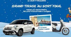 Voiture Fiat 500 L (valeur 18 990 euros)