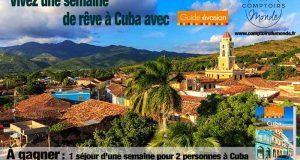 Voyage d'une semaine pour 2 personnes à Cuba