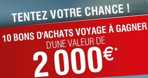 10 bons d achat auchan voyages de 2000 euros. Black Bedroom Furniture Sets. Home Design Ideas