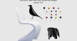 2 chaises Vitra (valeur unitaire 249 euros)