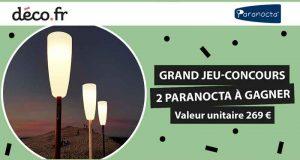 2 lampadaires nomades Paranocta