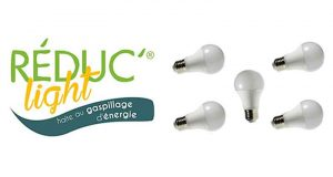 5 ampoules LED gratuites (valeur 60 €)