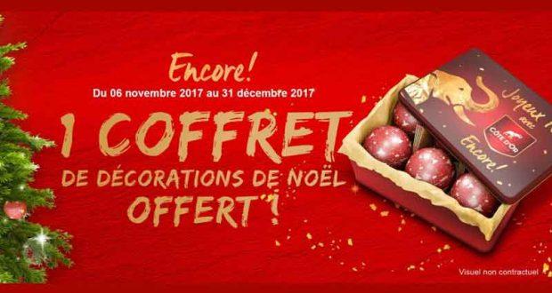 5000 coffrets de décoration de Noël offerts