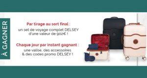Set de bagages Delsey (valeur 902 euros)