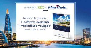 3 coffrets voyage Brittany Ferries