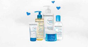 5 lots de 5 produits de soins Bioderma