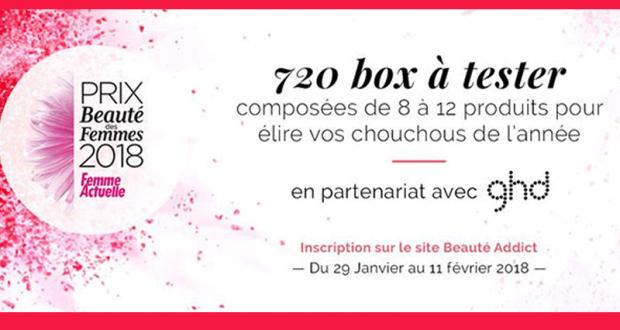 720 beauty box offertes par Femme Actuelle