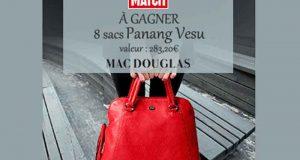 8 sacs Mac Douglas Panang Vesu