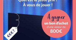 Bon d'achat Auchan de 800 euros