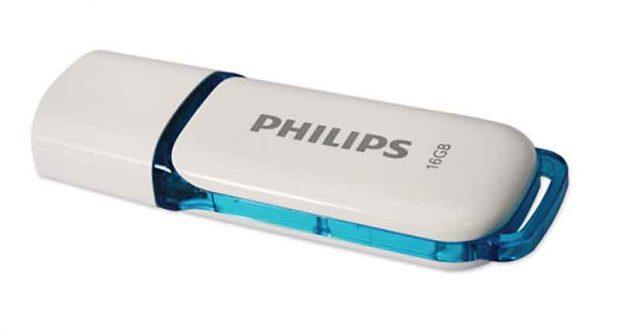 Clé USB SNOW 2.0 16Go Philips 100% remboursée
