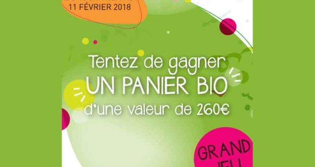 Panier de produits bio