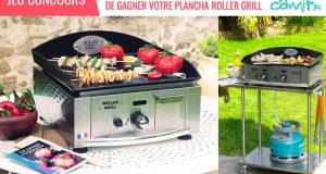 Plancha Roller Grill électrique
