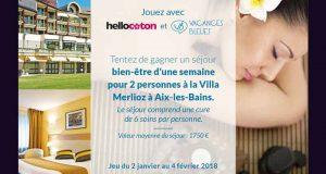 Séjour thalasso d'une semaine pour 2 à Aix-les-Bains