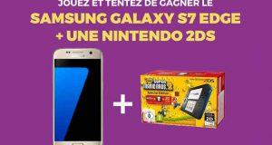 Smartphone Samsung Galaxy S7 + Console de jeux