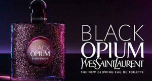 Échantillons gratuits de parfum Black Opium Yves Saint Laurent