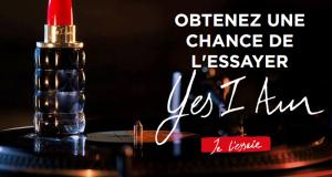 Échantillons gratuits du parfum Yes I Am de Cacharel