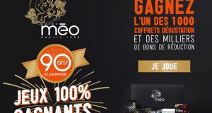 1000 coffrets de dégustation Café Méo