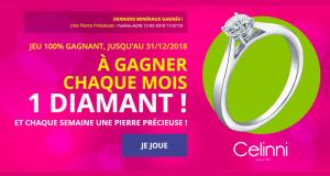 11 diamants solitaires (valeur unitaire 1330 euros)