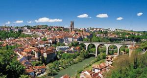 3 voyages de 5 jours dans la région de Fribourg en Suisse