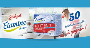 30 tablettes lave-vaisselle Etamine du Lys