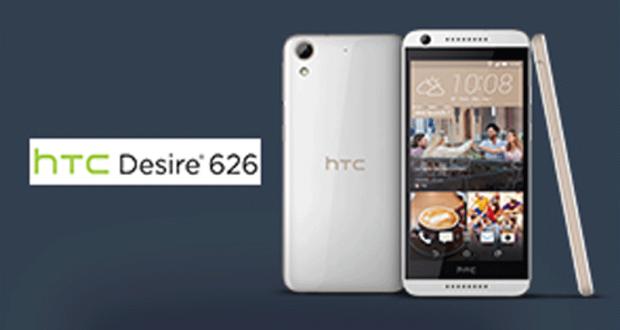 5 smartphones HTC Desire 626