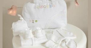 5 valises de maternité Absorba