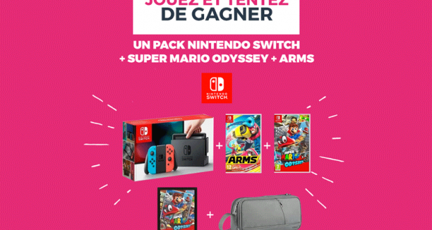 console de jeux nintendo switch 2 jeux pochette chantillons gratuits france. Black Bedroom Furniture Sets. Home Design Ideas