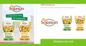Repas Végétal Sojasun 100% remboursé