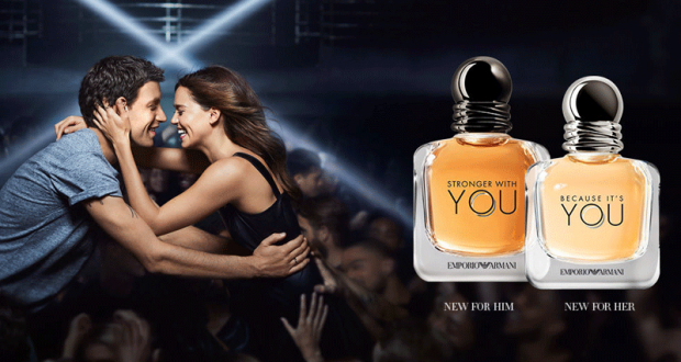 Échantillons gratuits du parfum Because it's you