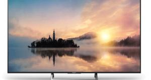 1 écran TV LED Sony 4K (1799 euros)