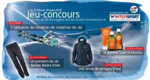 10 semaines de location de matériel de ski