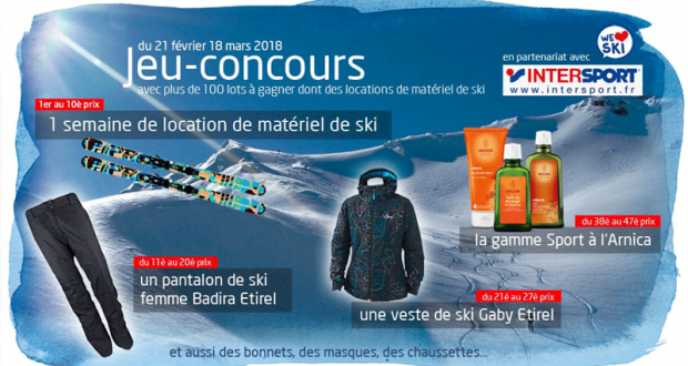 location materiel ski une semaine
