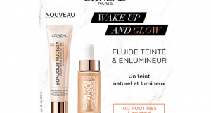 100 Routines maquillage Wake up and Glow à tester