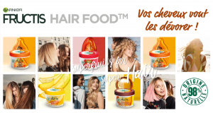 1000 masques Hair Food Fructis gratuits